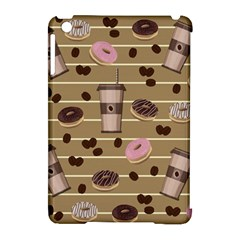 Coffee And Donuts  Apple Ipad Mini Hardshell Case (compatible With Smart Cover) by Valentinaart