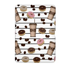 Donuts And Coffee Pattern Samsung Galaxy Tab 2 (10 1 ) P5100 Hardshell Case  by Valentinaart
