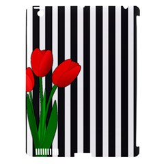 Tulips Apple Ipad 3/4 Hardshell Case (compatible With Smart Cover)