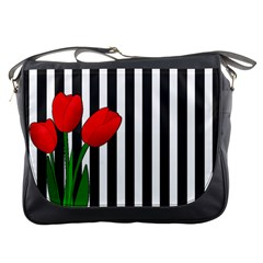 Tulips Messenger Bags