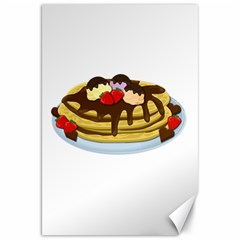Pancakes   Shrove Tuesday Canvas 20  X 30   by Valentinaart