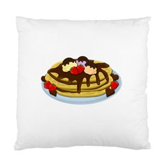 Pancakes   Shrove Tuesday Standard Cushion Case (one Side) by Valentinaart