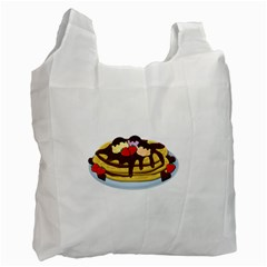 Pancakes   Shrove Tuesday Recycle Bag (one Side) by Valentinaart