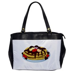 Pancakes   Shrove Tuesday Office Handbags by Valentinaart
