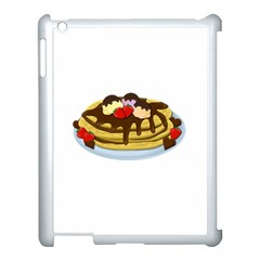 Pancakes   Shrove Tuesday Apple Ipad 3/4 Case (white) by Valentinaart