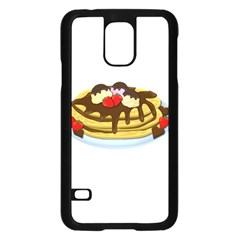 Pancakes   Shrove Tuesday Samsung Galaxy S5 Case (black) by Valentinaart