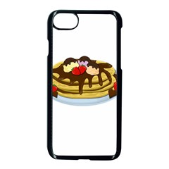 Pancakes   Shrove Tuesday Apple Iphone 7 Seamless Case (black) by Valentinaart