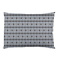 Pattern Grid Squares Texture Pillow Case (two Sides) by Nexatart