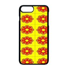 Pattern Design Graphics Colorful Apple Iphone 7 Plus Seamless Case (black) by Nexatart