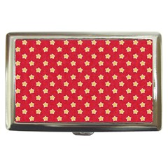 Pattern Felt Background Paper Red Cigarette Money Cases by Nexatart