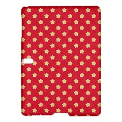 Pattern Felt Background Paper Red Samsung Galaxy Tab S (10 5 ) Hardshell Case  by Nexatart