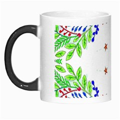 Holiday Festive Background With Space For Writing Morph Mugs by Nexatart