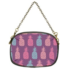 Pineapple Pattern  Chain Purses (two Sides)  by Nexatart