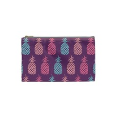 Pineapple Pattern  Cosmetic Bag (small)  by Nexatart