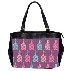 Pineapple Pattern  Office Handbags (2 Sides)  by Nexatart