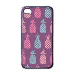 Pineapple Pattern  Apple Iphone 4 Case (black) by Nexatart