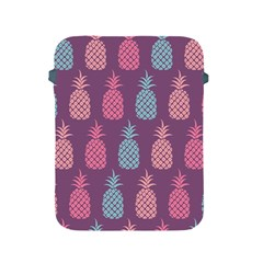 Pineapple Pattern  Apple Ipad 2/3/4 Protective Soft Cases by Nexatart