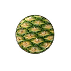 Pineapple Pattern Hat Clip Ball Marker (4 Pack) by Nexatart