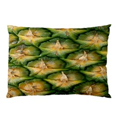 Pineapple Pattern Pillow Case by Nexatart