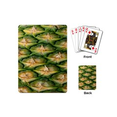 Pineapple Pattern Playing Cards (mini)  by Nexatart