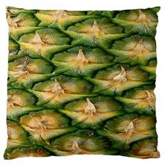Pineapple Pattern Large Cushion Case (two Sides) by Nexatart