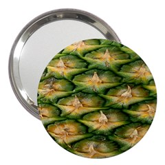 Pineapple Pattern 3  Handbag Mirrors by Nexatart