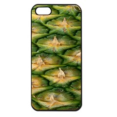 Pineapple Pattern Apple Iphone 5 Seamless Case (black) by Nexatart