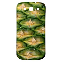 Pineapple Pattern Samsung Galaxy S3 S Iii Classic Hardshell Back Case by Nexatart