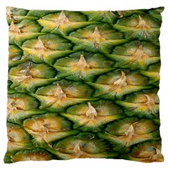 Pineapple Pattern Large Flano Cushion Case (two Sides) by Nexatart