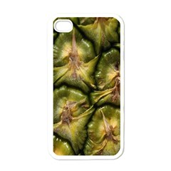 Pineapple Fruit Close Up Macro Apple Iphone 4 Case (white)