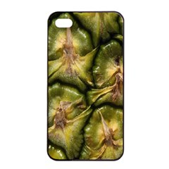 Pineapple Fruit Close Up Macro Apple Iphone 4/4s Seamless Case (black) by Nexatart