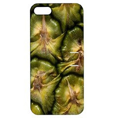 Pineapple Fruit Close Up Macro Apple Iphone 5 Hardshell Case With Stand by Nexatart