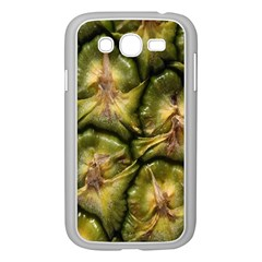 Pineapple Fruit Close Up Macro Samsung Galaxy Grand Duos I9082 Case (white) by Nexatart