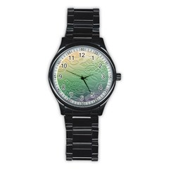 Plants Nature Botanical Botany Stainless Steel Round Watch