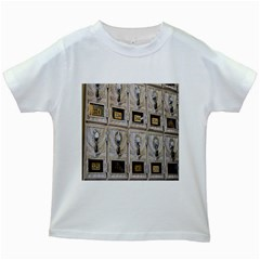 Post Office Old Vintage Building Kids White T Shirts