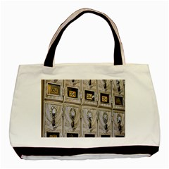 Post Office Old Vintage Building Basic Tote Bag by Nexatart