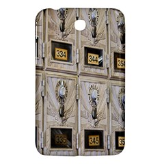 Post Office Old Vintage Building Samsung Galaxy Tab 3 (7 ) P3200 Hardshell Case  by Nexatart
