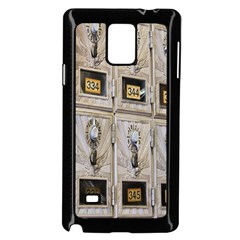 Post Office Old Vintage Building Samsung Galaxy Note 4 Case (black) by Nexatart