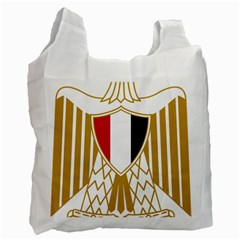Coat Of Arms Of Egypt Recycle Bag (one Side) by abbeyz71
