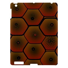 Psychedelic Pattern Apple Ipad 3/4 Hardshell Case by Nexatart