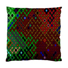 Psychedelic Abstract Swirl Standard Cushion Case (one Side) by Nexatart