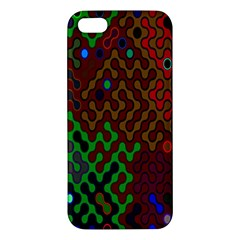 Psychedelic Abstract Swirl Iphone 5s/ Se Premium Hardshell Case by Nexatart