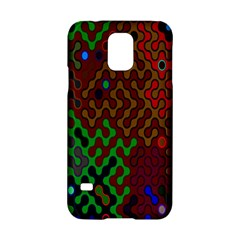 Psychedelic Abstract Swirl Samsung Galaxy S5 Hardshell Case  by Nexatart