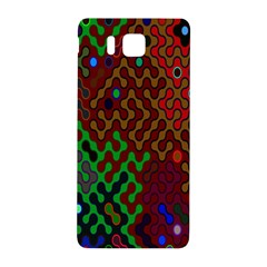 Psychedelic Abstract Swirl Samsung Galaxy Alpha Hardshell Back Case by Nexatart