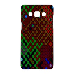 Psychedelic Abstract Swirl Samsung Galaxy A5 Hardshell Case  by Nexatart