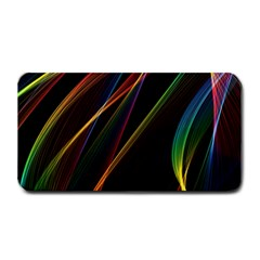 Rainbow Ribbons Medium Bar Mats by Nexatart