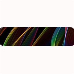 Rainbow Ribbons Large Bar Mats by Nexatart