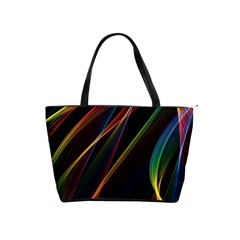 Rainbow Ribbons Shoulder Handbags by Nexatart