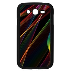 Rainbow Ribbons Samsung Galaxy Grand Duos I9082 Case (black) by Nexatart