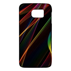 Rainbow Ribbons Galaxy S6 by Nexatart